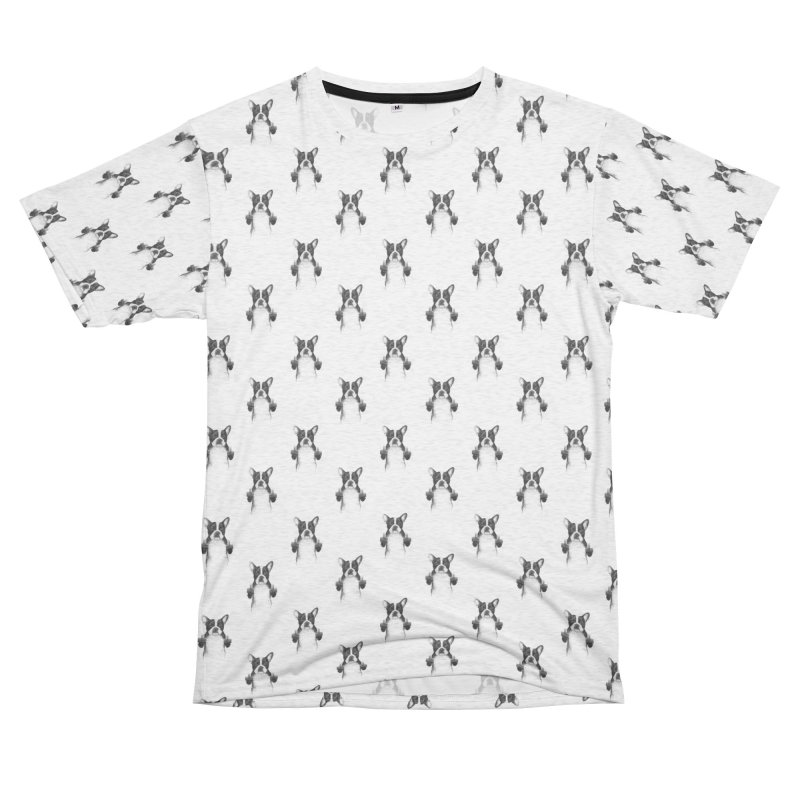 Censored dog Women's Unisex French Terry T-Shirt Cut & Sew by Balazs Solti