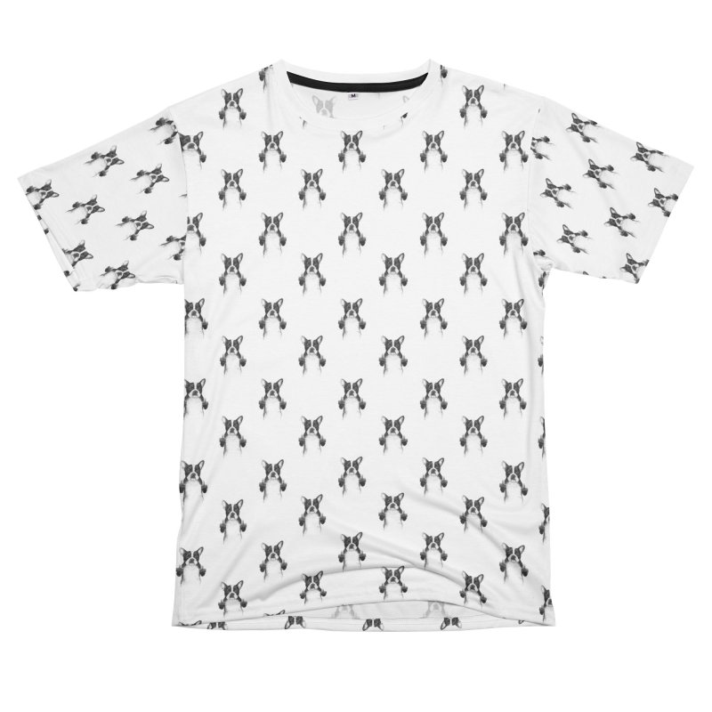 Censored dog Women's Unisex T-Shirt Cut & Sew by Balazs Solti