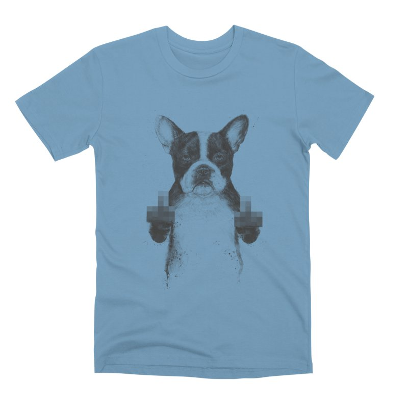 Censored dog Men's Premium T-Shirt by Balazs Solti