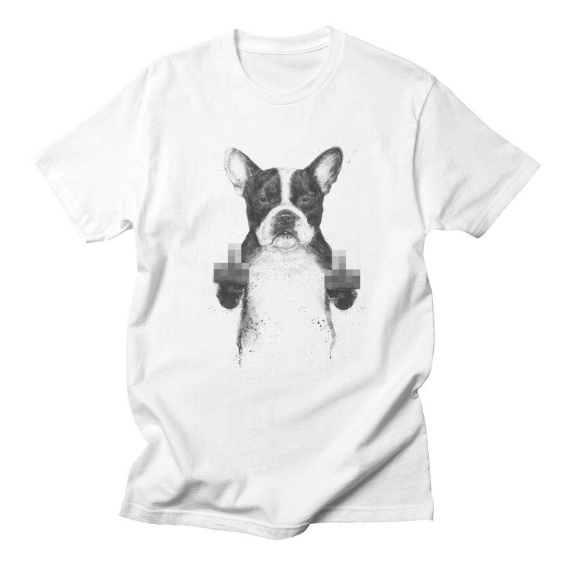 Censored dog Women's Regular Unisex T-Shirt by Balazs Solti