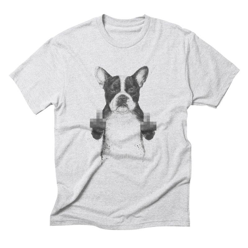 Censored dog Men's Triblend T-Shirt by Balazs Solti
