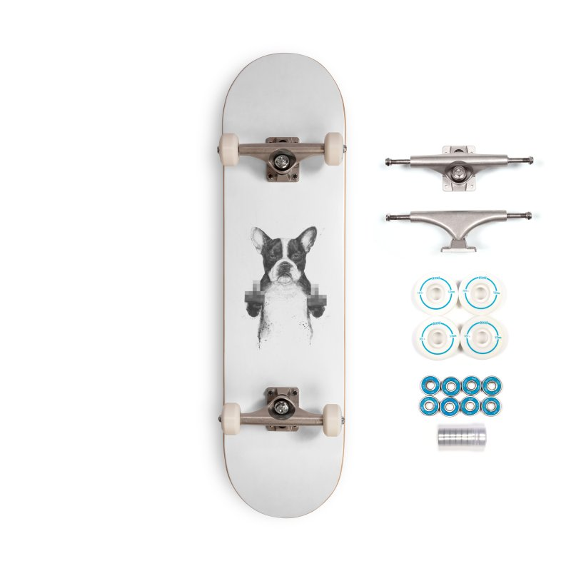 Censored dog Accessories Complete - Basic Skateboard by Balazs Solti