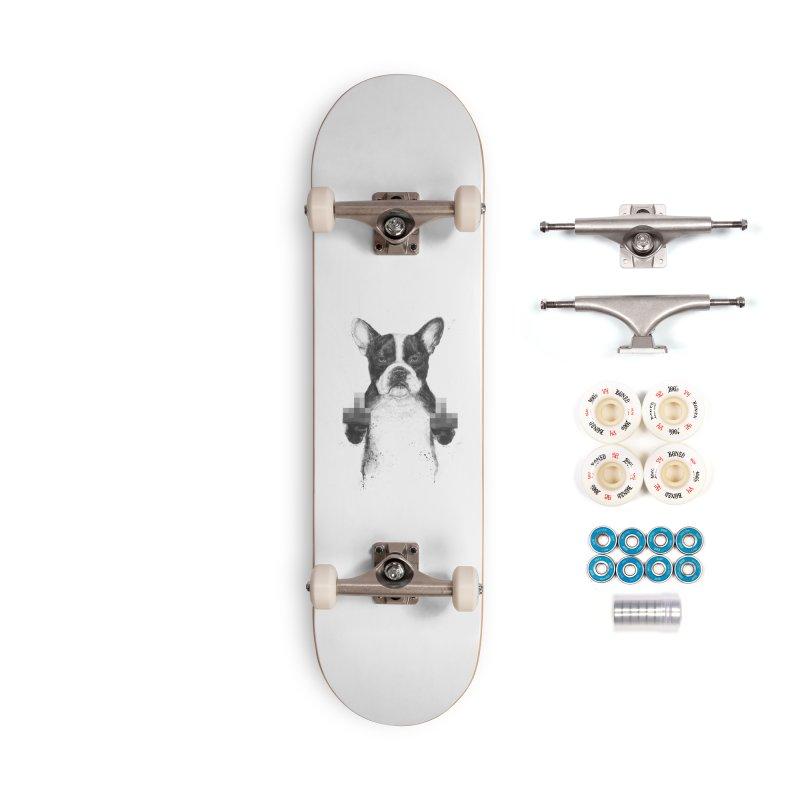 Censored dog Accessories Complete - Premium Skateboard by Balazs Solti