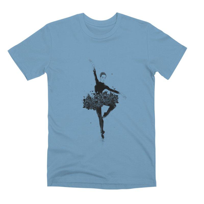 Floral dance Men's Premium T-Shirt by Balazs Solti