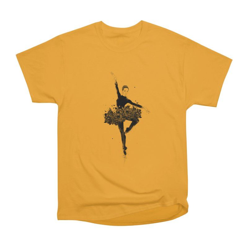 Floral dance Women's Heavyweight Unisex T-Shirt by Balazs Solti