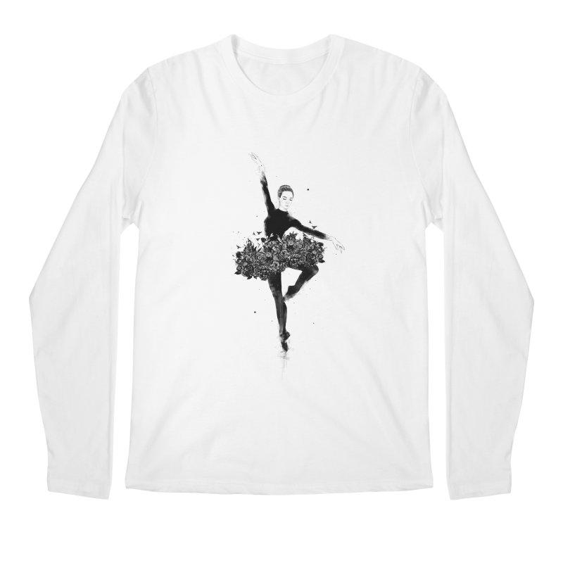 Floral dance Men's Regular Longsleeve T-Shirt by Balazs Solti