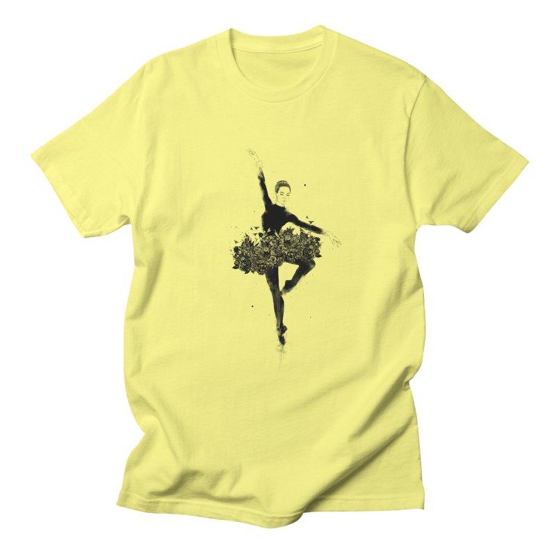 Floral dance Women's Regular Unisex T-Shirt by Balazs Solti