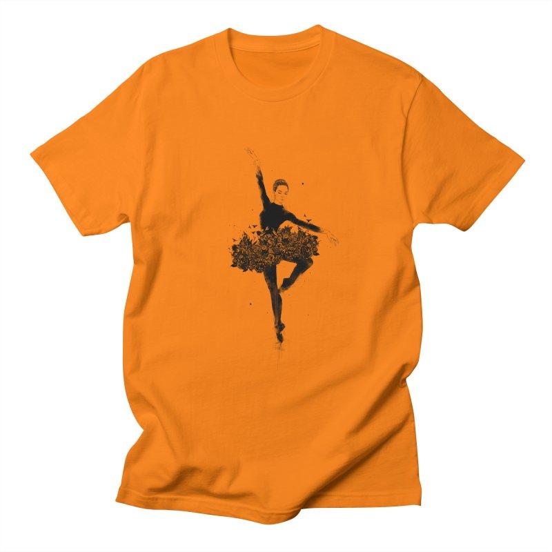 Floral dance Men's Regular T-Shirt by Balazs Solti