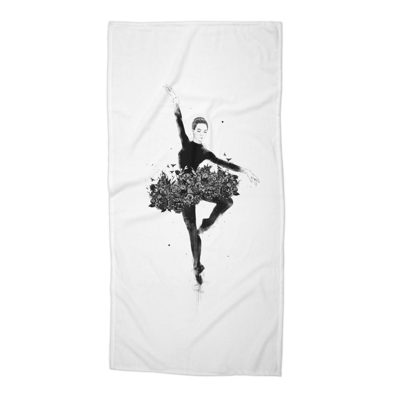 Floral dance Accessories Beach Towel by Balazs Solti