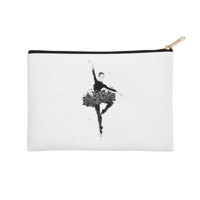 Floral dance Accessories Zip Pouch by Balazs Solti
