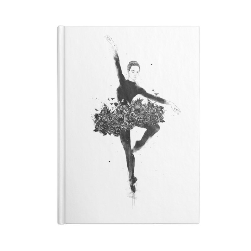Floral dance Accessories Lined Journal Notebook by Balazs Solti