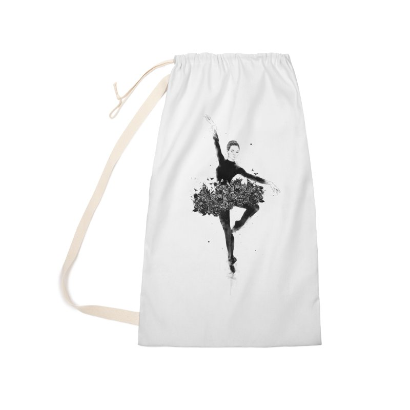 Floral dance Accessories Laundry Bag Bag by Balazs Solti