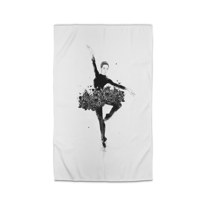 Floral dance Home Rug by Balazs Solti