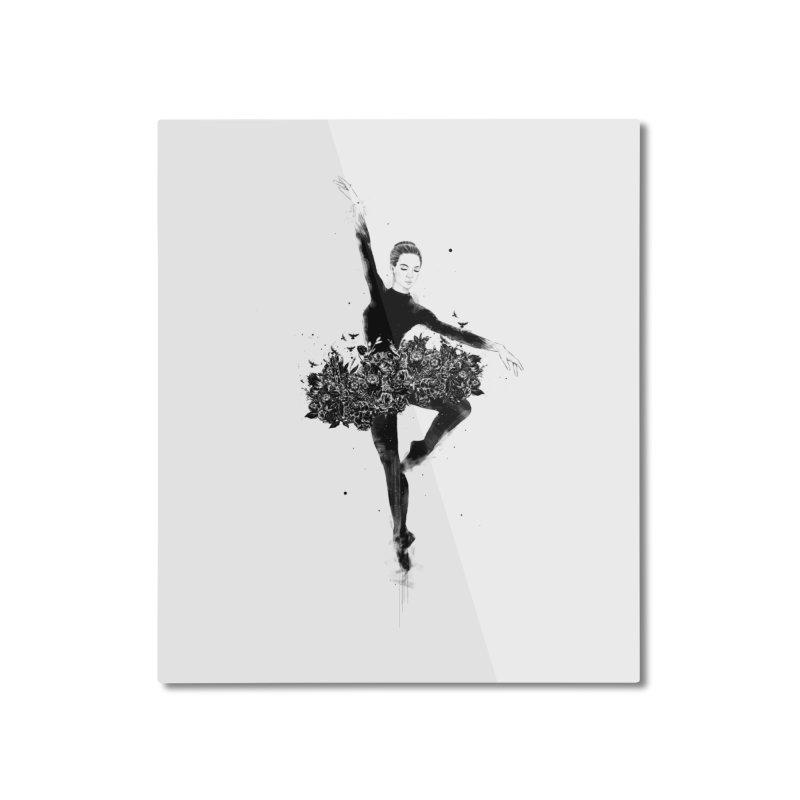 Floral dance Home Mounted Aluminum Print by Balazs Solti