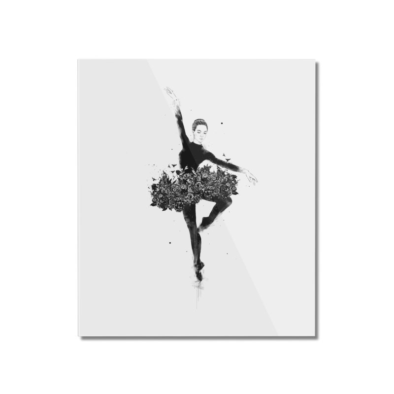 Floral dance Home Mounted Acrylic Print by Balazs Solti