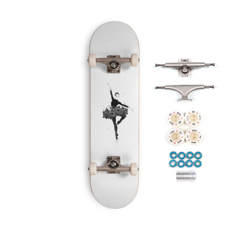 Floral dance Accessories Complete - Premium Skateboard by Balazs Solti