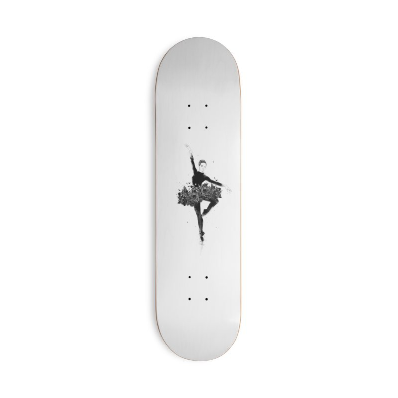 Floral dance Accessories Deck Only Skateboard by Balazs Solti