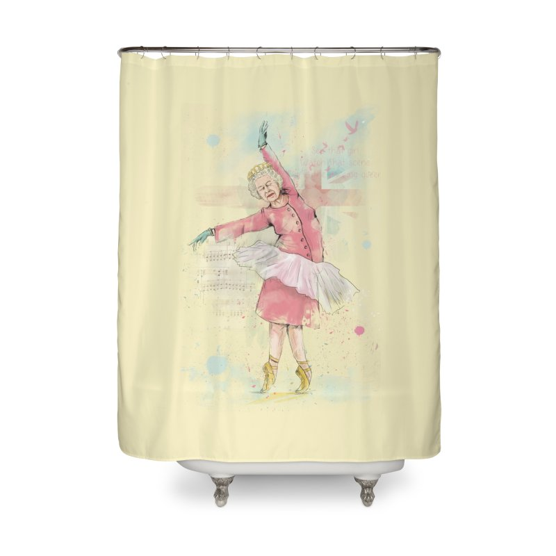 Dancing Queen Home Shower Curtain by Balazs Solti