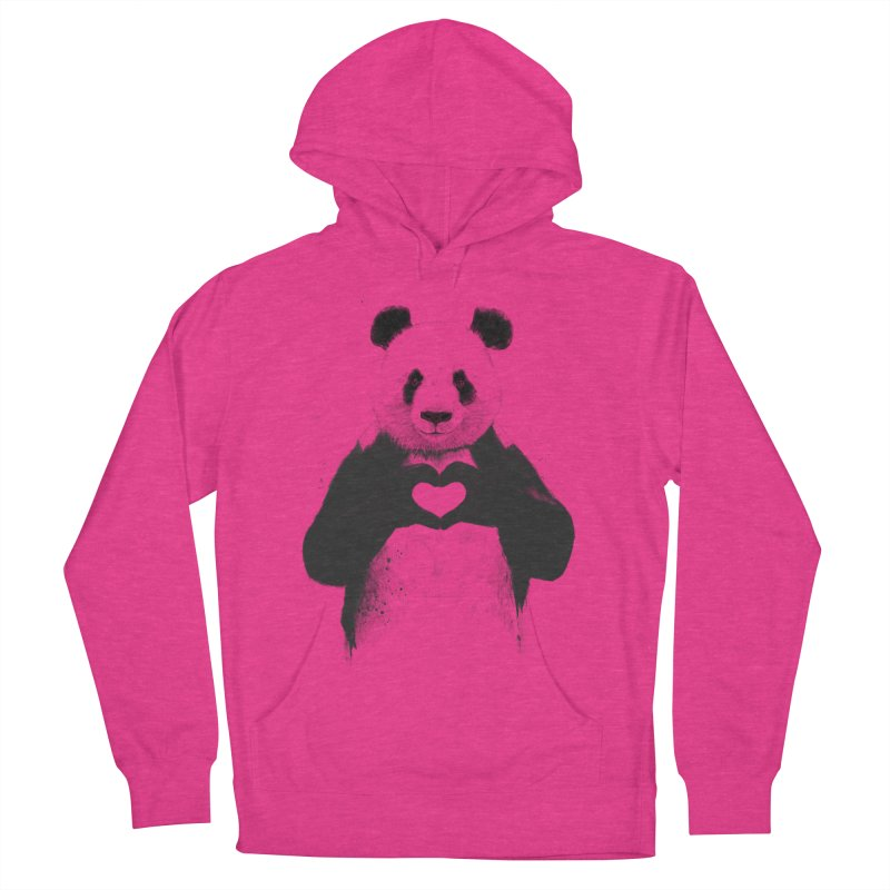 All You Need is Love Men's Pullover Hoody by Balazs Solti