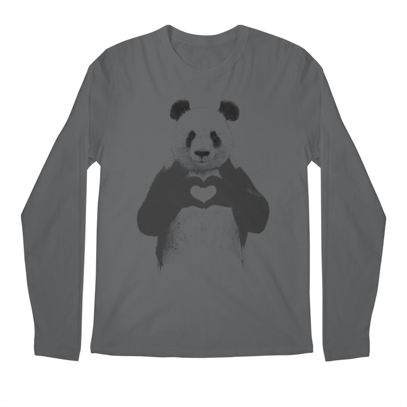 All You Need is Love Men's Longsleeve T-Shirt by Balazs Solti