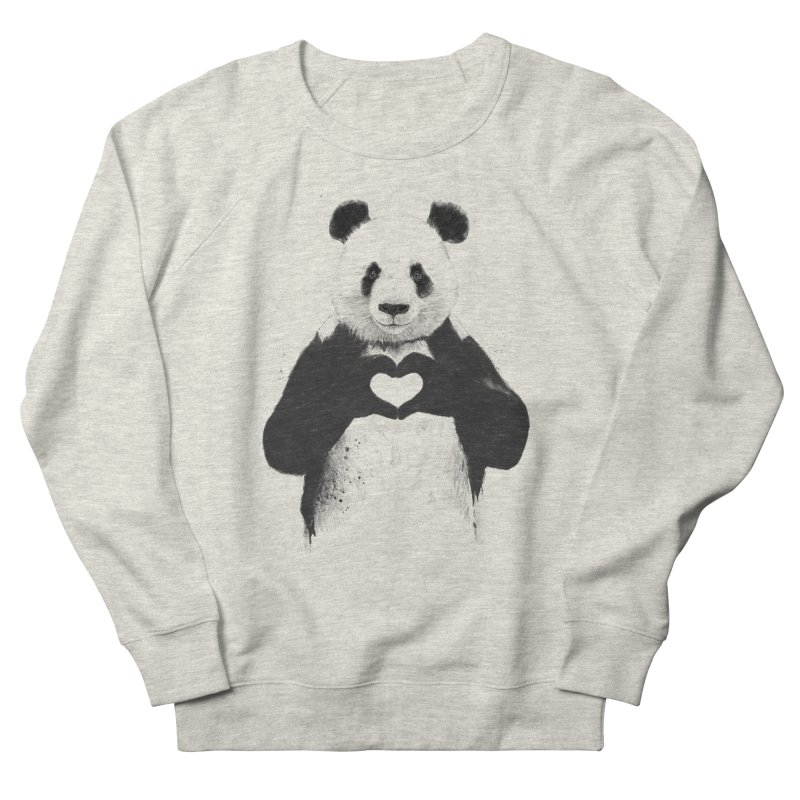 All You Need is Love Men's Sweatshirt by Balazs Solti