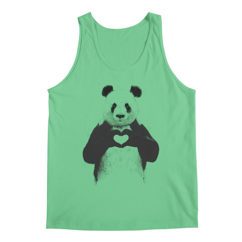 All You Need is Love Men's Tank by Balazs Solti