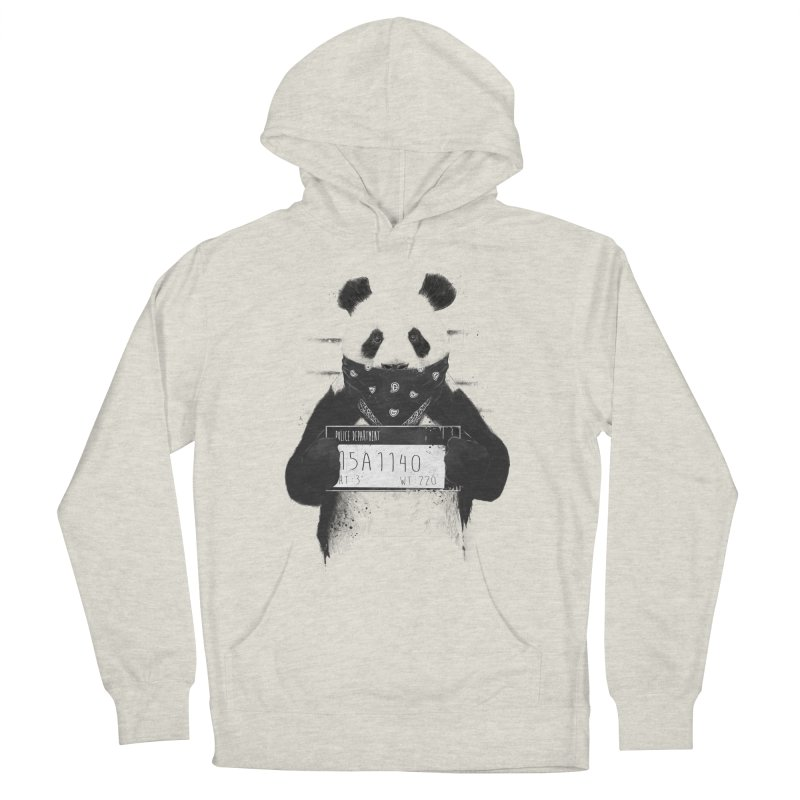 Bad Panda Women's Pullover Hoody by Balazs Solti
