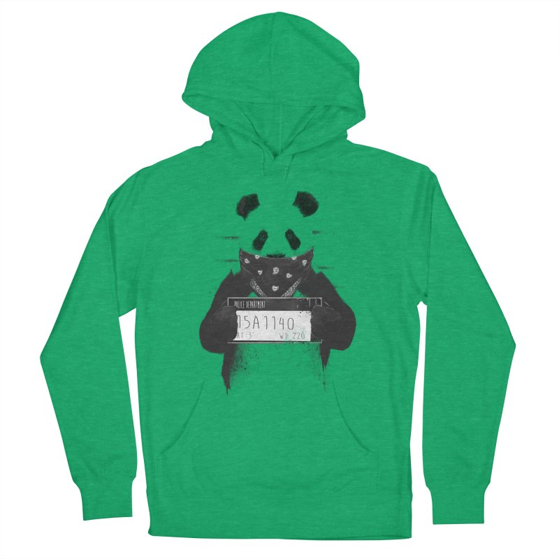 Bad Panda Men's Pullover Hoody by Balazs Solti