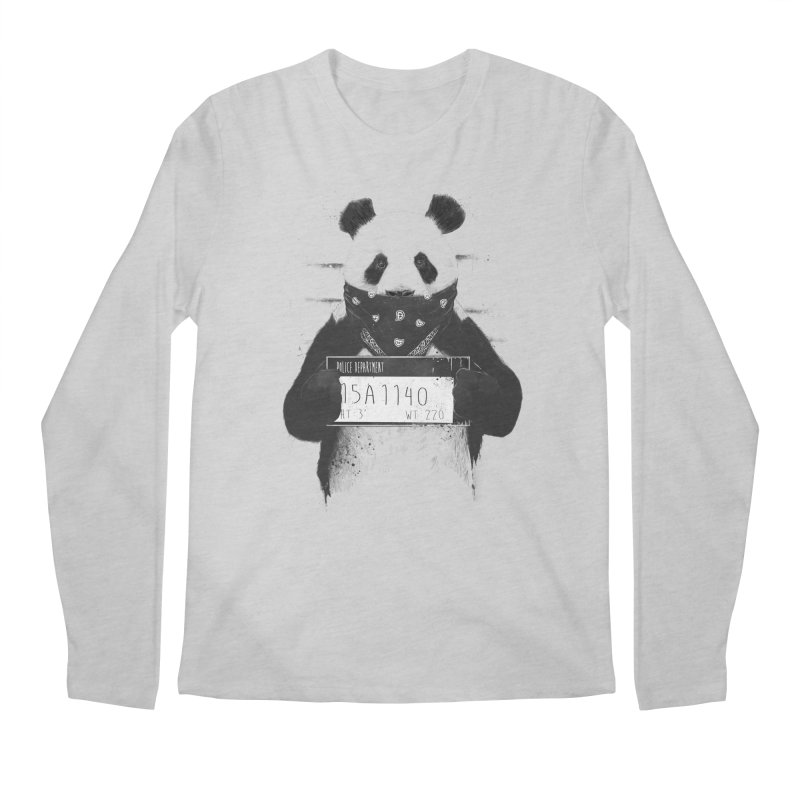 Bad Panda Men's Longsleeve T-Shirt by Balazs Solti