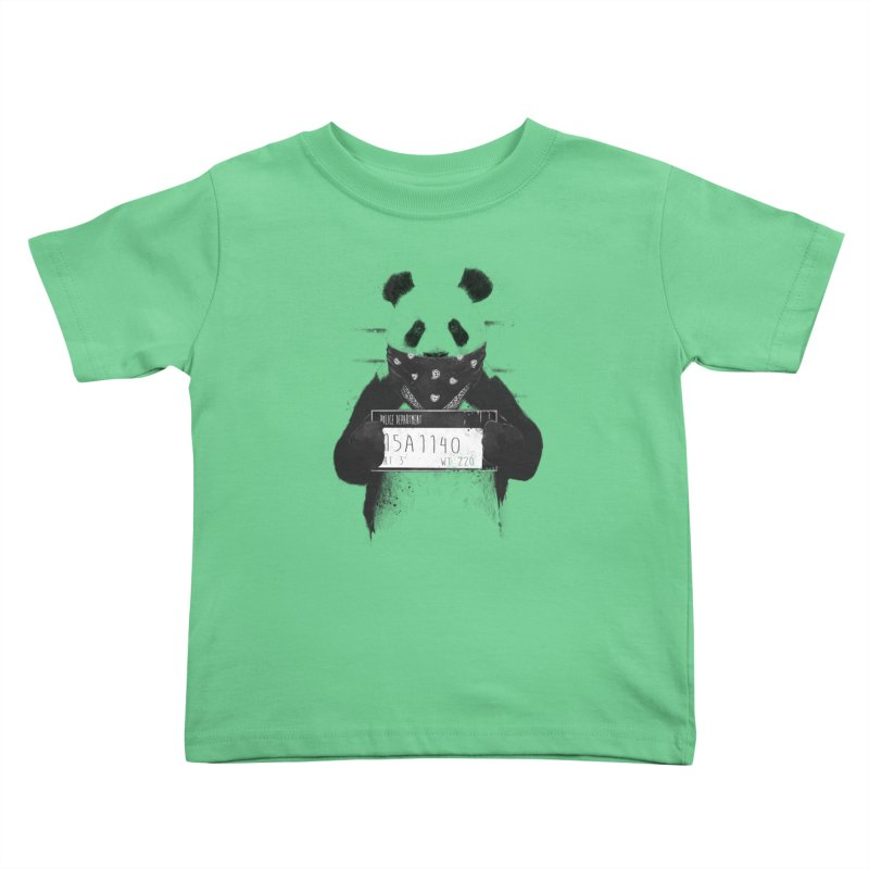 Bad Panda Kids Toddler T-Shirt by Balazs Solti