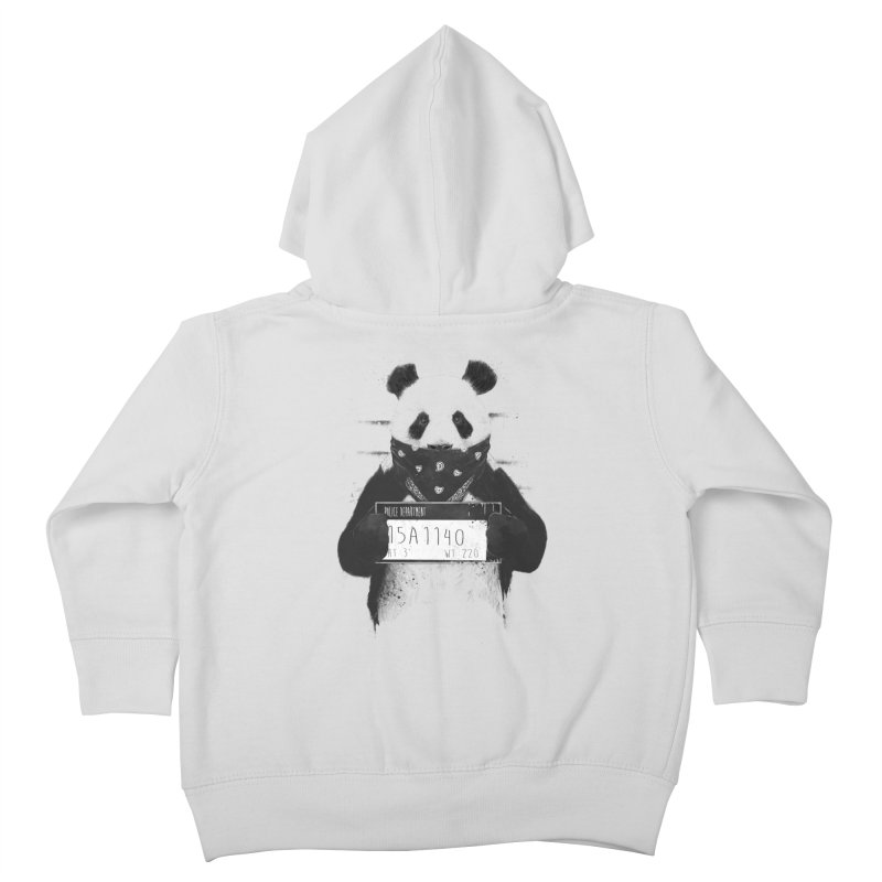 Bad Panda Kids Toddler Zip-Up Hoody by Balazs Solti