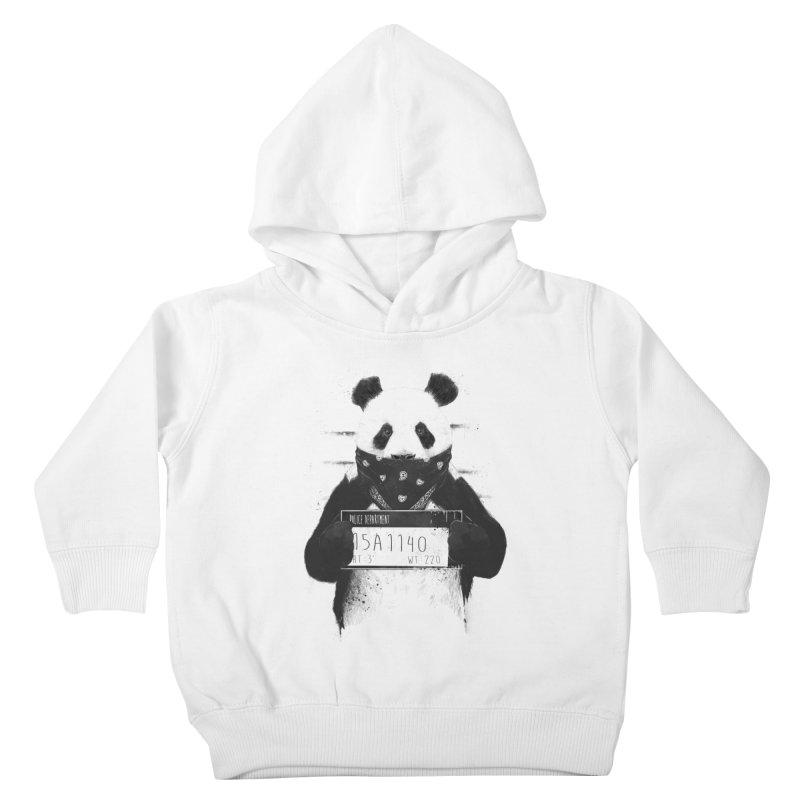 Bad Panda Kids Toddler Pullover Hoody by Balazs Solti