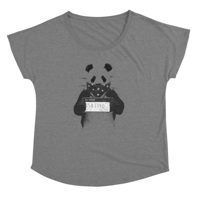 Bad Panda Women's Dolman by Balazs Solti