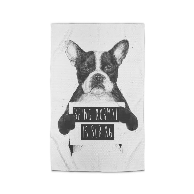 Being Normal is Boring Home Rug by Balazs Solti