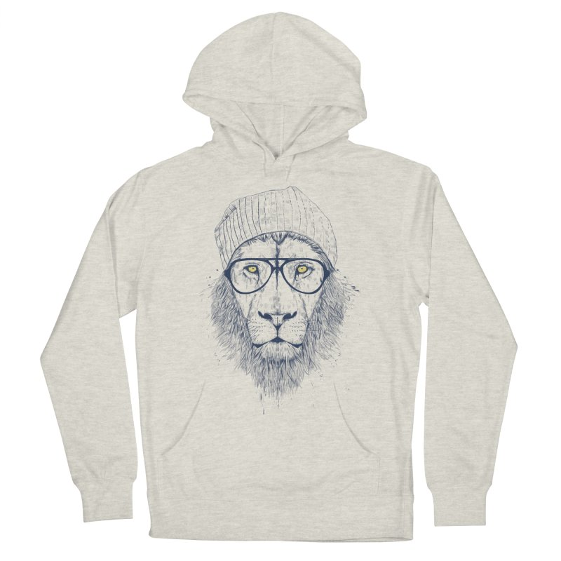 Cool Lion Men's Pullover Hoody by Balazs Solti