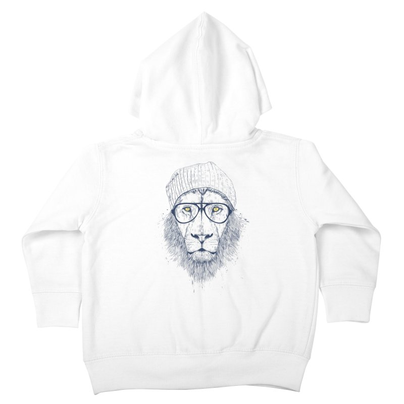 Cool Lion Kids Toddler Zip-Up Hoody by Balazs Solti