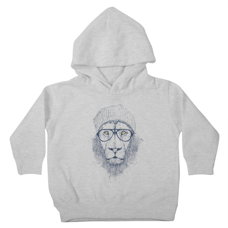 Cool Lion Kids Toddler Pullover Hoody by Balazs Solti
