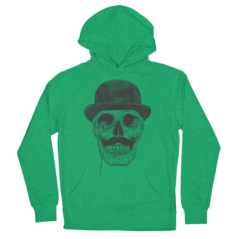 Gentlemen Never Die Men's Pullover Hoody by Balazs Solti