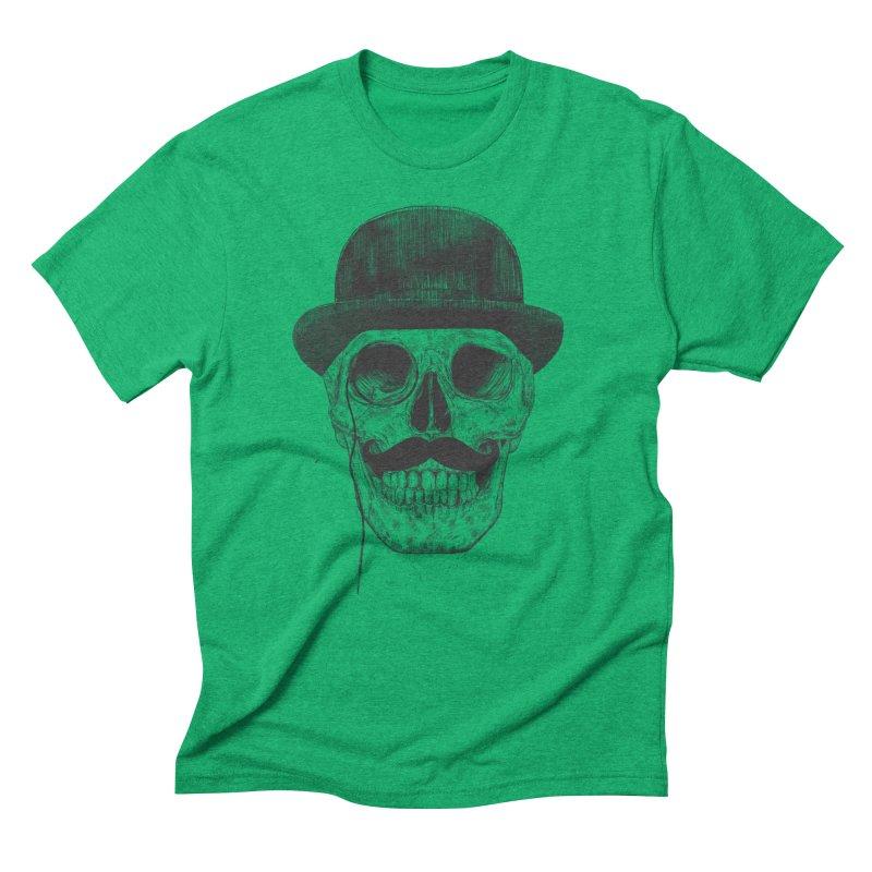 Gentlemen Never Die Men's Triblend T-shirt by Balazs Solti