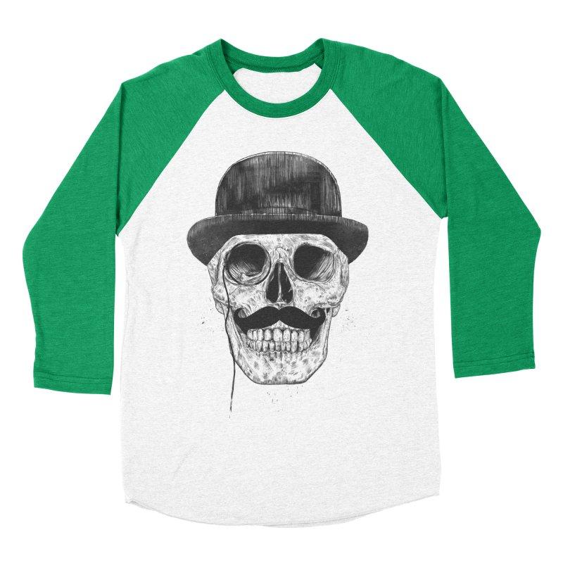 Gentlemen Never Die Women's Baseball Triblend T-Shirt by Balazs Solti