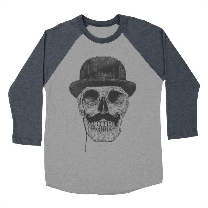 Gentlemen Never Die Men's Baseball Triblend T-Shirt by Balazs Solti