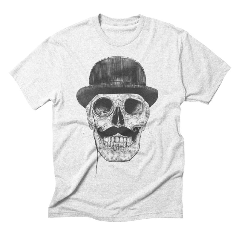 Gentlemen Never Die Men's Triblend T-shirt by Balazs Solti