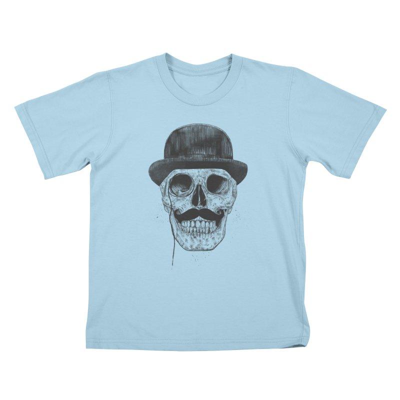 Gentlemen Never Die Kids T-shirt by Balazs Solti