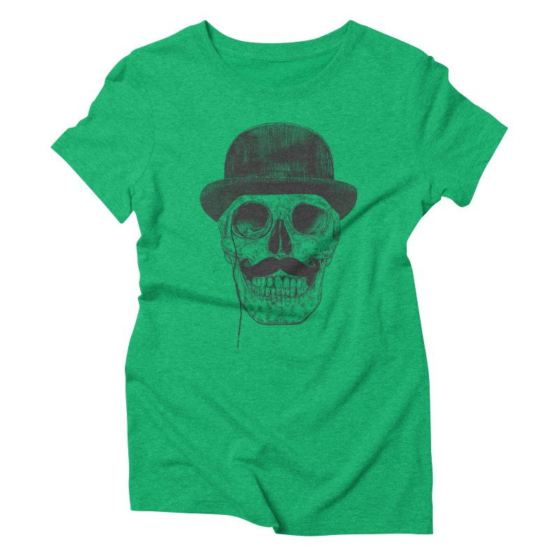 Gentlemen Never Die Women's Triblend T-shirt by Balazs Solti
