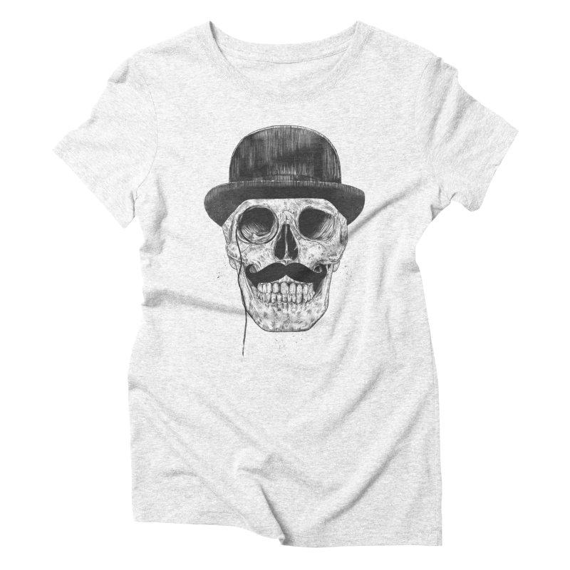 Gentlemen Never Die Women's Triblend T-shirt by Balazs Solti