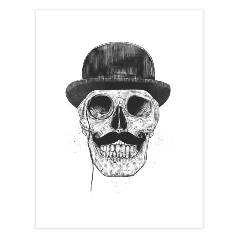 Gentlemen Never Die Home Fine Art Print by Balazs Solti