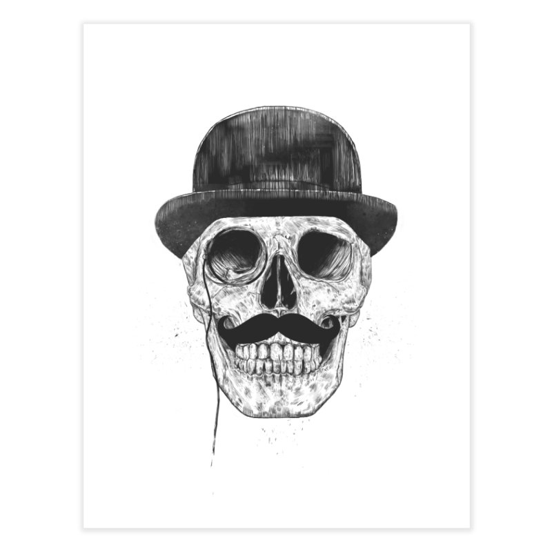 Gentlemen Never Die Home Fine Art Print by Balazs Solti