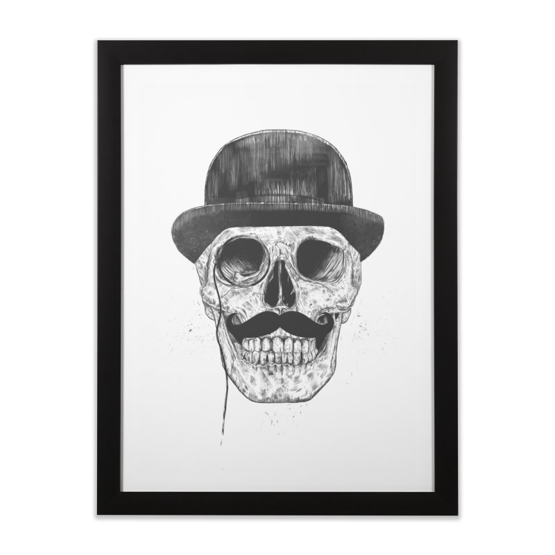 Gentlemen Never Die Home Framed Fine Art Print by Balazs Solti