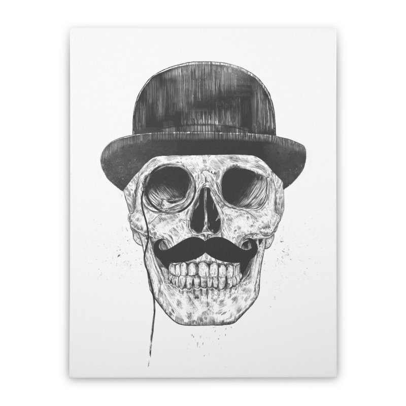 Gentlemen Never Die Home Stretched Canvas by Balazs Solti