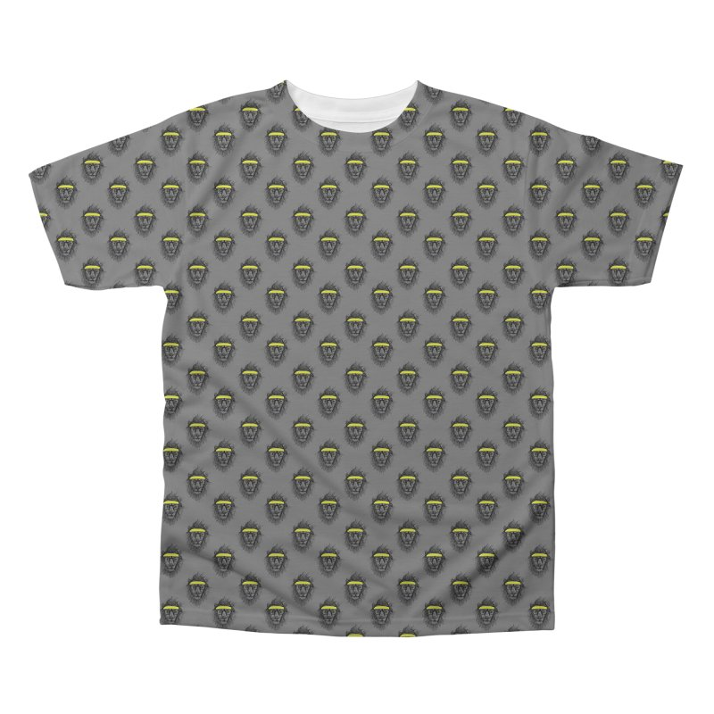 Hipster Lion Men's Regular All Over Print by Balazs Solti